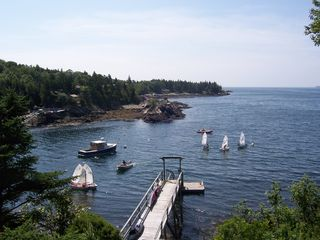 Christmas Cove house photo - .View from the house and private dock. Deep water moring.