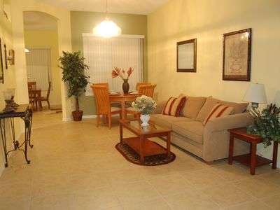 Hampton Lakes villa rental - Living/Dining Room 2