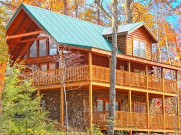 Gatlinburg cabin rental - High Mountain Lodge - Luxury with a million dollar view!