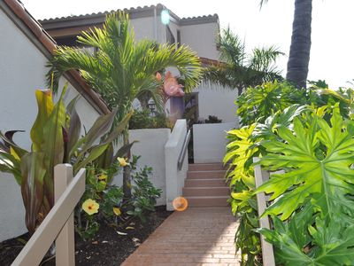 Kailua Kona condo rental - Entry to our Home