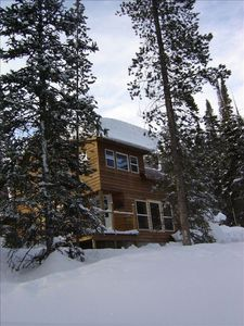 Step into snowmobiling, sledding, skiing from the front door!