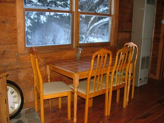 Pittsburg cabin photo - Dining Area