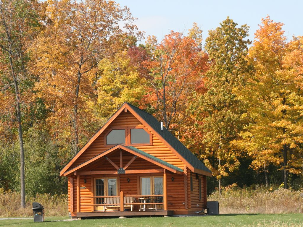 Rustic Real Log Cabin Overlooking Seneca Lake Vrbo