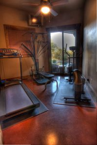 Your personal gym with commercial grade cardio machines