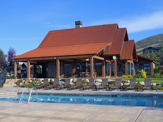 Snowbasin house photo - Pool & Clubhouse with fitness center