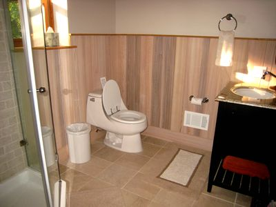 Hunter chalet rental - Bright & Airy Bathrooms that are all Super Clean