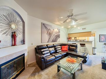 Other Scottsdale Properties apartment rental - Enjoy a spacious , light filled one bedroom condo with golf course views