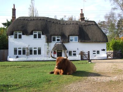 Beautiful Thatched Cottage In Village Location, With Direct Forest Access