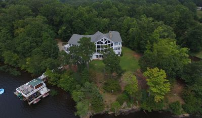 "Mansion On Lake Gaston (13,500 Sq ft) on 5 Private Acres ""Eagle Point"" Sleeps 44"