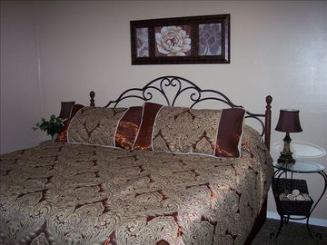 Master Bedroom with Pillowtop Mattress and Private Bath