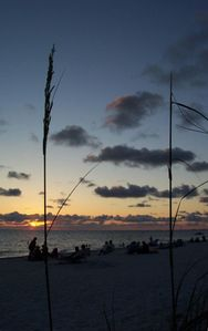 Join the nightly sunset parties on the beach; only 500 feet away!