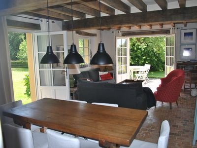 Large quiet property, comfort, view, pool, GR, between Angers and Le Mans
