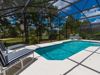 Haines City villa photo - Gorgeous South Facing Pool and Patio