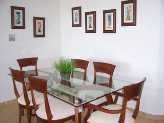 Fajardo apartment photo - Contemporay Dinner Table for six