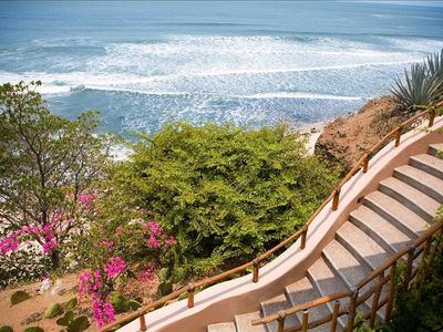 Stairs down to the Beach