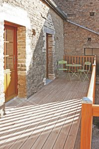 Cottage in the heart of Burgundy with terrace, 4 persons, 1 room