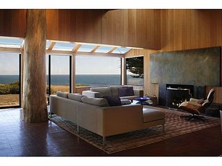 Sea Ranch house photo - .The living room. The fireplace facade has been remodled.