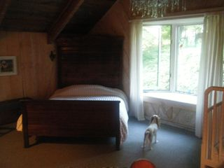 Blowing Rock house photo - Upstairs full size bedroom (crib no longer in room)