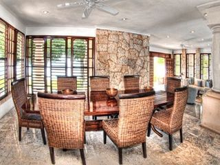 Isla Mujeres estate photo - Dining room
