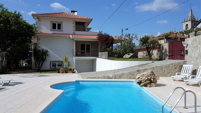 Beautiful detached villa with private pool, wi-fi, garden, games room & BBQ