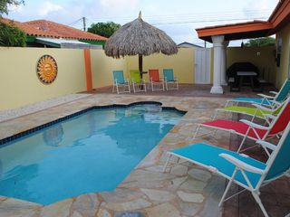 Aruba villa photo - Beautiful private swimming pool