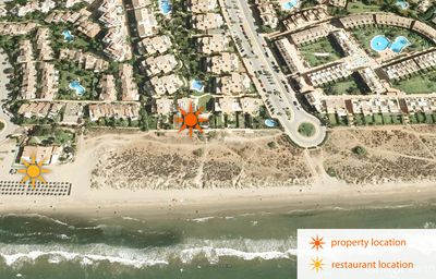Marbella villa rental - Map view
