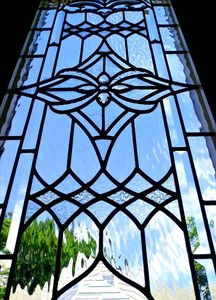 Dining Room Stain Glass Windows