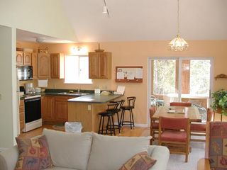 "Maple City house photo - ""Into the Woods,"" a charming, fully-equipped three- bedroom, two-bath home."