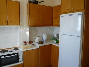 Upper level kitchen