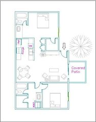 Phoenix condo photo - Floor Plan
