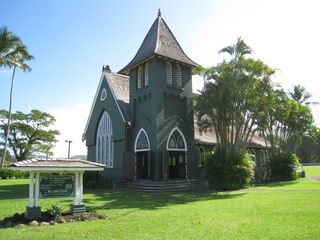 Princeville house photo - Historic church in Hanalei