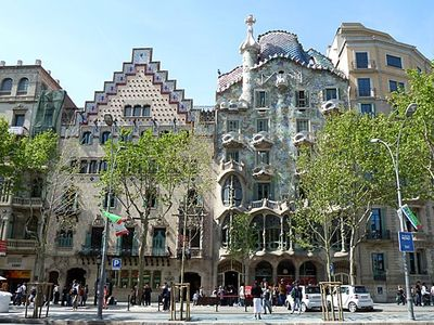 3 min from apartment-Casa Batlló, Gaudí building