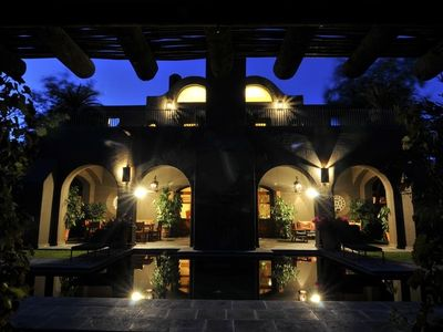 Casa Magdalena's secluded pool is ideal in the daytime ... and at night!