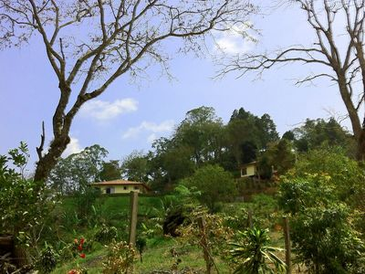 Vista Verde: atop Atenas Coffee Plantation