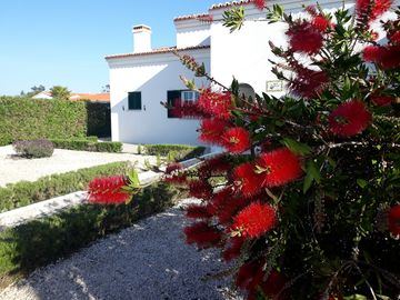 Villa with private pool in quiet residential area.