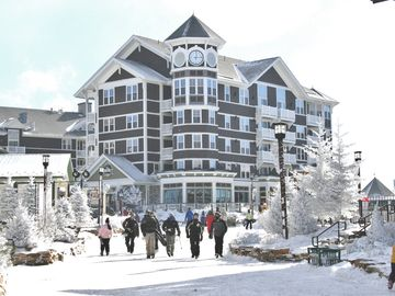Snowshoe Mountain condo rental - Allegheny Springs Condo from the village