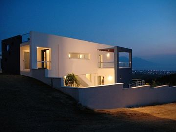 Kusadasi villa rental - The villa at night