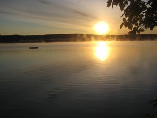 Bellaire / Shanty Creek cottage photo - Sunrise on Lake Bellaire
