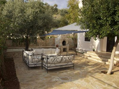 Kalkan villa rental - Winter Garden + BBQ