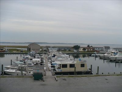 View of Marina from balcony