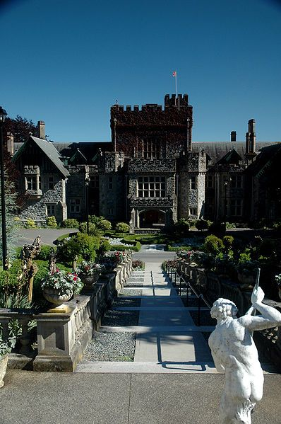 Hatley Castle 5 minutes away