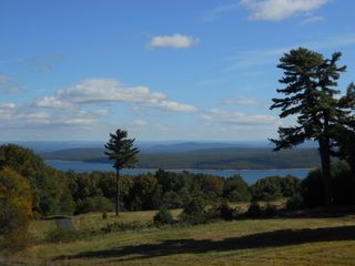 Woodstock house photo - Ashokan Reservoir as seen from front porch