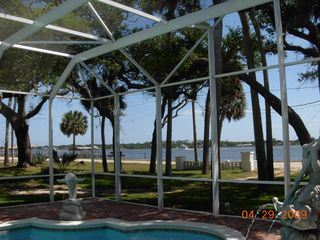 Daytona Beach house photo - Pool fountains and Halifax River