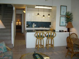Maalaea condo photo - Updated Kitchen Faces View & Includes Inside Washer/Dryer