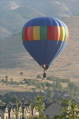 Eden townhome photo - Balloon over Wolf Creek