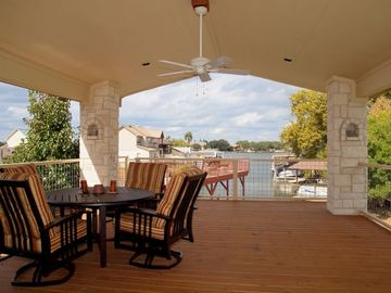 Upper Outdoor Dining Porch
