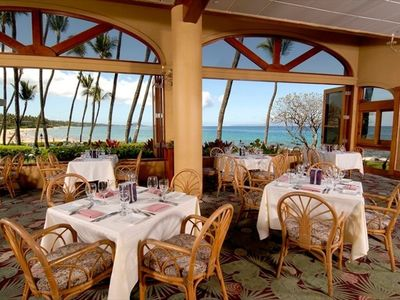 Five Palms Restaurant - our own 5-Star Restaurant ON SITE