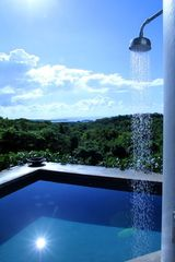 Vieques Island villa photo - pool and shower