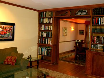 Your custom-built bookcase!