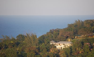 Jaquar Retreat Property: high up over looking the ocean and mountains